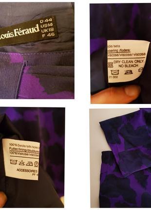 Германия! роскошное винтажное шелковое дизайнерское платье louis feraud7