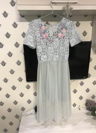 Ніжне небесне плаття1