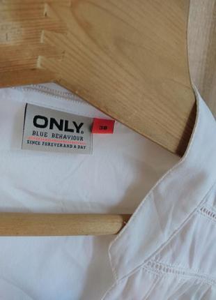 Белая рубашка, блузка only only4