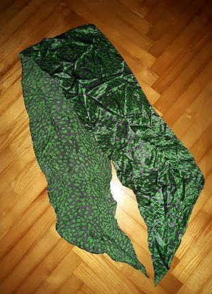 Яркий трендовый шарф в принт!2