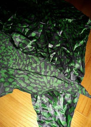 Яркий трендовый шарф в принт!3