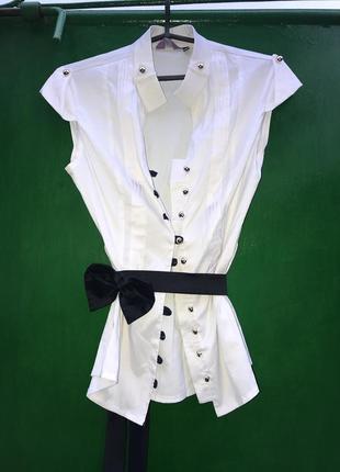 Блуза с бантом3