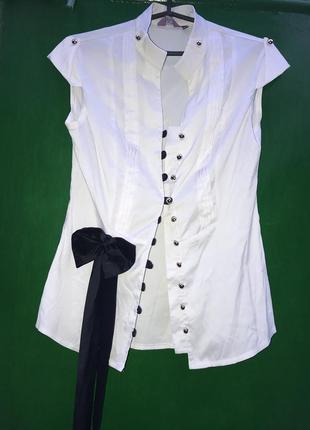 Блуза с бантом1
