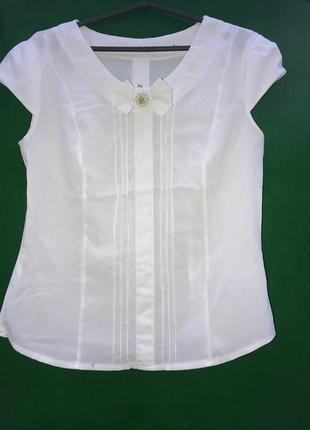Блузка с бантиком1