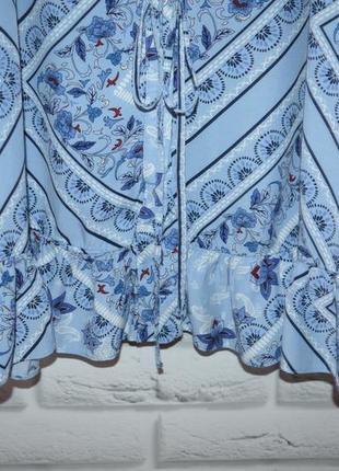 Красивое платье-рубашка, по низу с воланом, р. 18.5