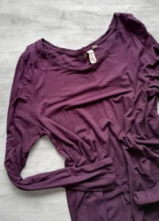 Sunshine фиолетовая кофточка с длинным рукавом3