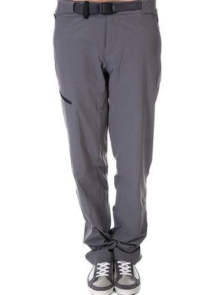Фирменные легкие спортивные брюки дымчатый серый the north face оригинал