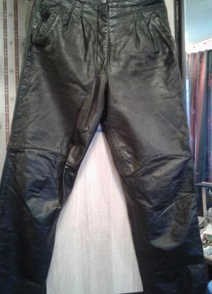 Кожаные брюки. натуральная кожа.1