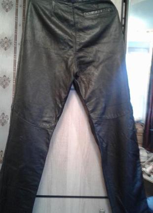 Кожаные брюки. натуральная кожа.2