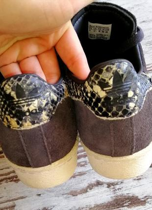 Кроссовки adidas замшевые (оригинал)3