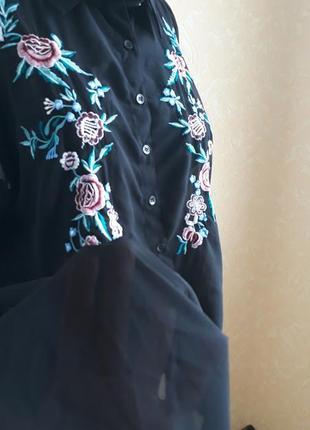 Удлиненная блуза - туника yours4