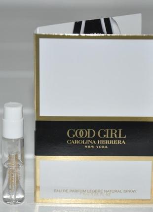 Carolina herrera good girl legere парфюмированная вода(пробник)