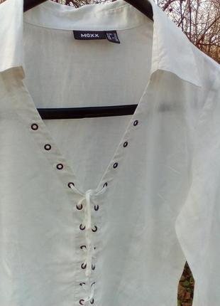 Рубашка лен 100%2