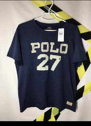 Крутое поло-футболка ralph lauren