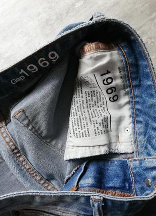 Gap светло синие голубые джинсы с заклёпками10