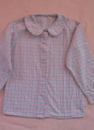 Рубашка для девочки на 5-6 лет