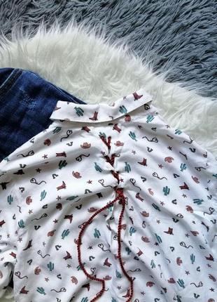 Рубашка с крутым принтом5