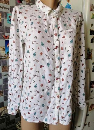 Рубашка с крутым принтом6