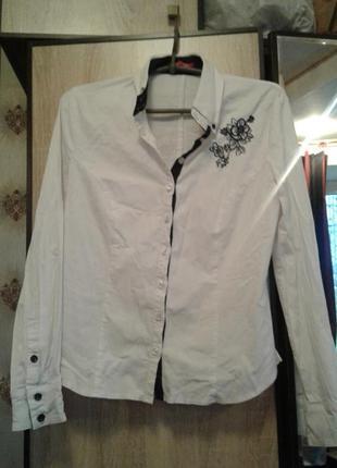 Белая блуза, рубашка.