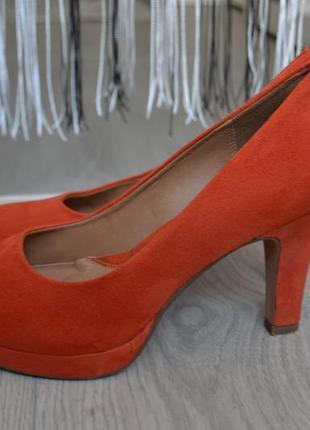 Замшевые туфли clarks2