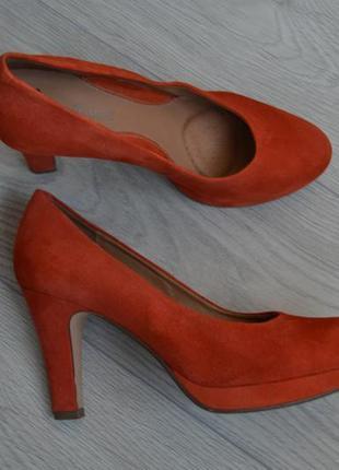 Замшевые туфли clarks1
