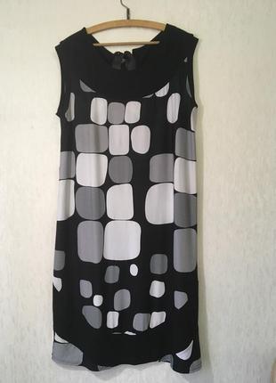 Летнее трикотажное платье