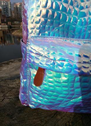Рюкзак голографический для школы4