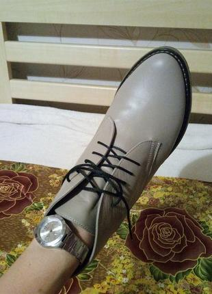 Кожаные ботинки your step shoes, р. 403