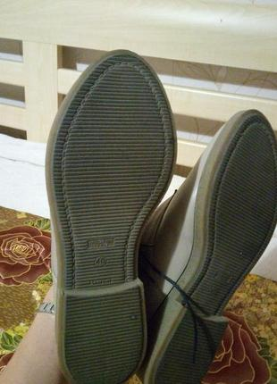 Кожаные ботинки your step shoes, р. 406