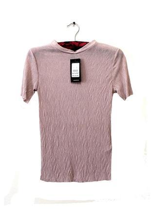 New look. оригинал. эффектная блуза, выполнена из плиссированной ткани. на наш размер 40.4