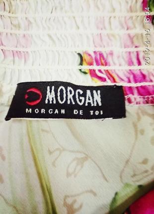 Morgan топ натуральный шелкр м2