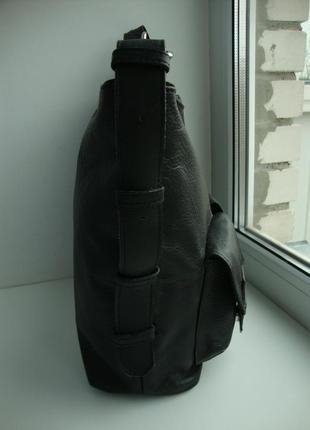 Кожаная немецкая сумочка tu- унисекс3