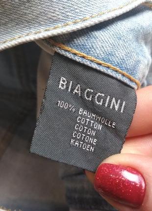 Стильные джинсовые шорты с высокой посадкой, biaggini, p. 8)104