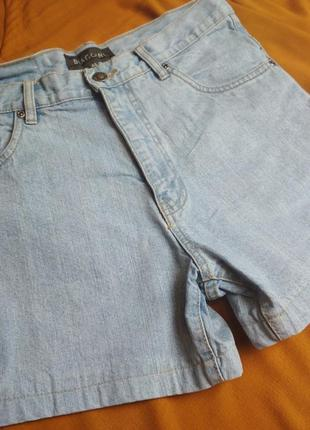 Стильные джинсовые шорты с высокой посадкой, biaggini, p. 8)105