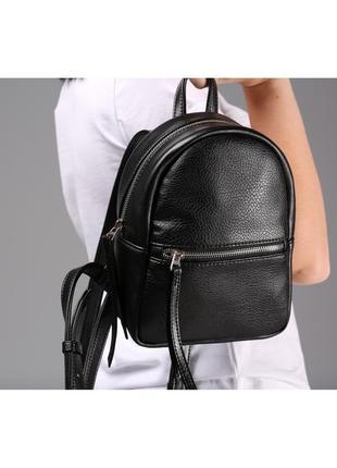 Небольшой рюкзак черного цвета1