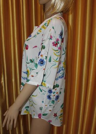 Очень красивая штапельная блузка3