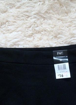 Базовая черная юбка от f&f2