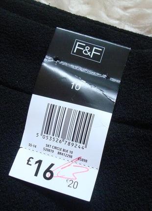 Базовая черная юбка от f&f3