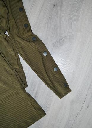 Сукня міді в рубчик new look3