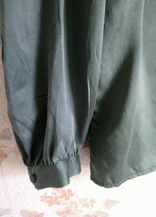 Блуза шелк цвет р. m  н&m2