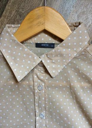 Блуза из тонкого хлопка eterna3