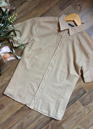 Блуза из тонкого хлопка eterna2