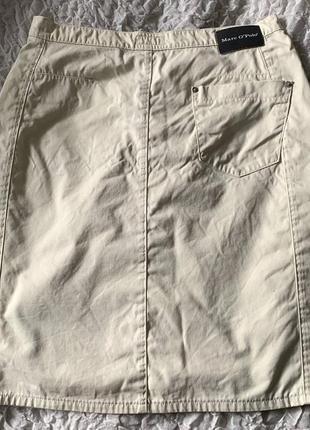 Молочная коттоновая юбка marc o polo 422