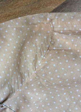Блуза из тонкого хлопка eterna4