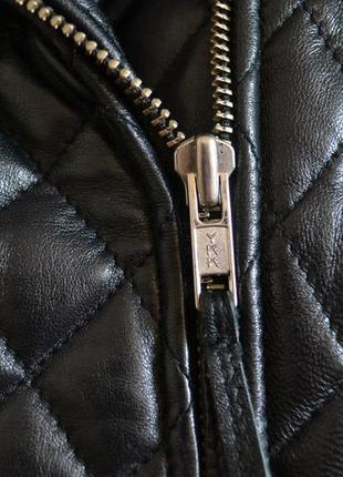 Шикарна куртка косуха з натуральної шкіри3