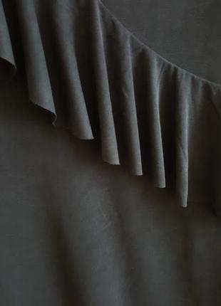 Платье oxxo с воланом3