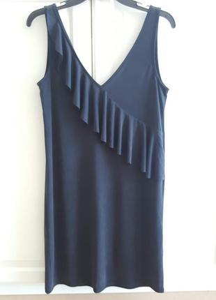 Платье oxxo с воланом1