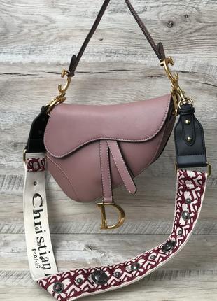 Женская модная сумка седло1 фото