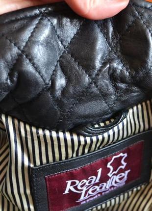 Шикарна куртка косуха з натуральної шкіри7