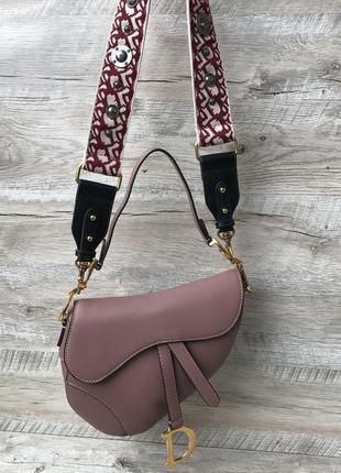 Женская модная сумка седло4 фото